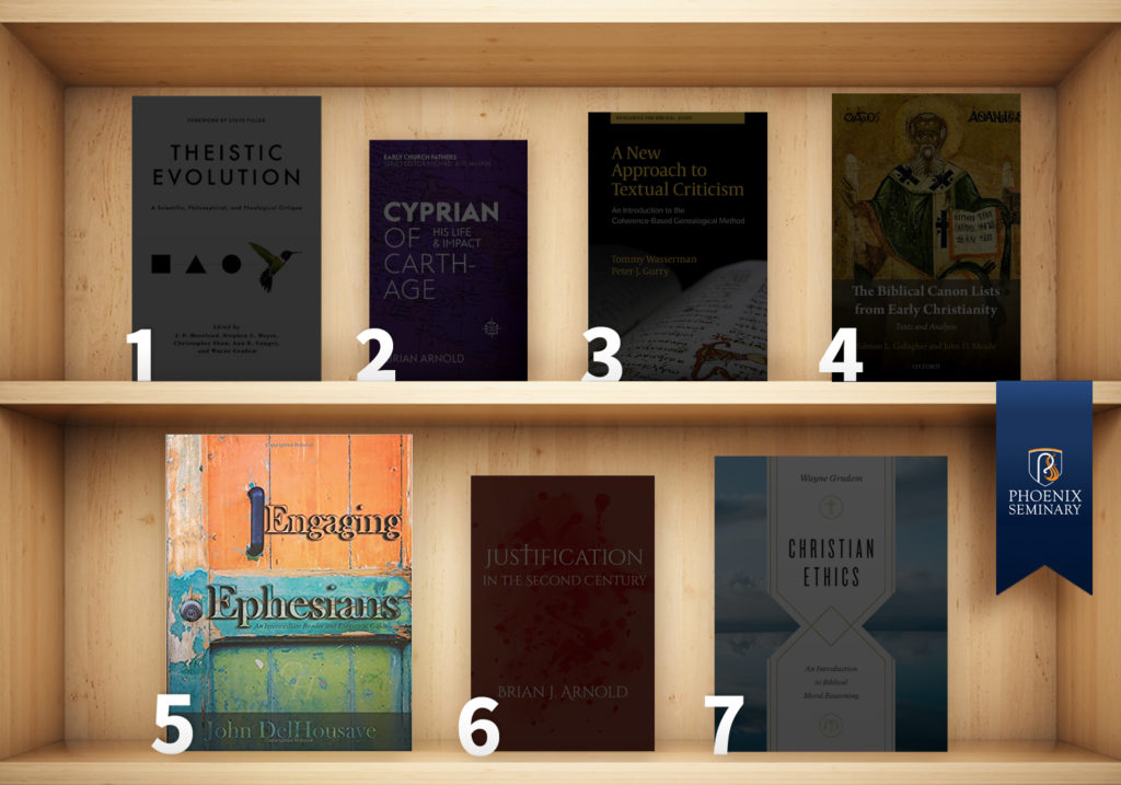 Engaging Ephesians on a book shelf
