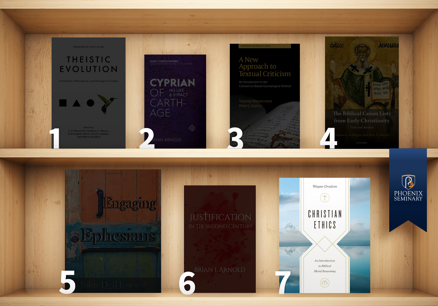 Christian Ethics on the shelf