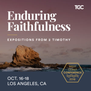 Enduring Faithfulness conference, Oct. 16–18, 2018