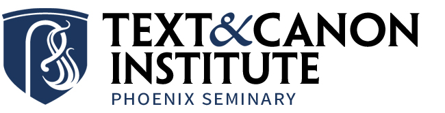 Phoenix Seminary Text & Canon Institute logo