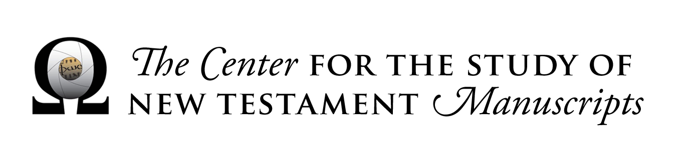 The Center for the Study of New Testament Manuscripts
